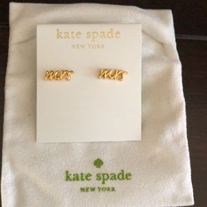 kate spade Mrs Earrings